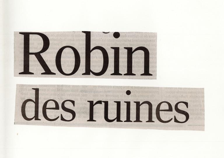 Robin des ruines