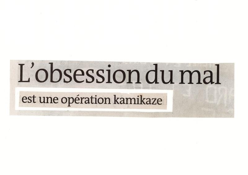 obsession du mal