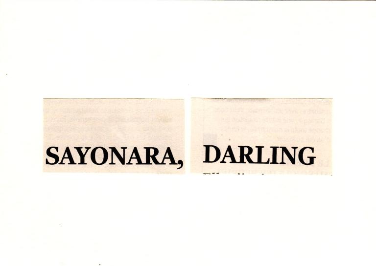 Sayonara Darling
